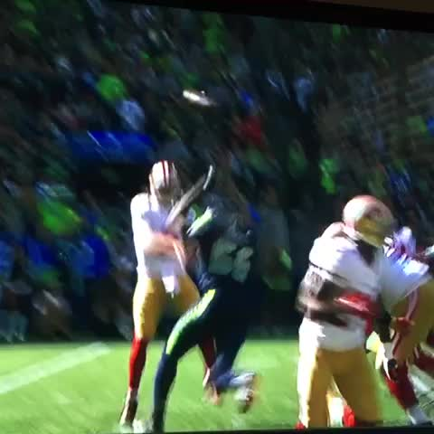 Vine by Bay Area Sports Guy - First half recap: 49ers offense