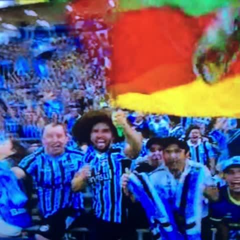 GOOOOOOOOOOOOOOOL DO GRÊMIOOOOOOOOOOOOO!! RIVEROS! Grêmio 1 x 0 Cruzeiro! - Versos Gremistas post on Vine