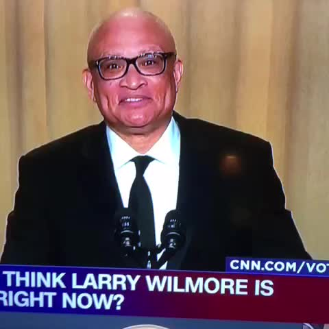 Vine by Jimmy Traina - And now Don Lemon flips off Larry Wilmore.