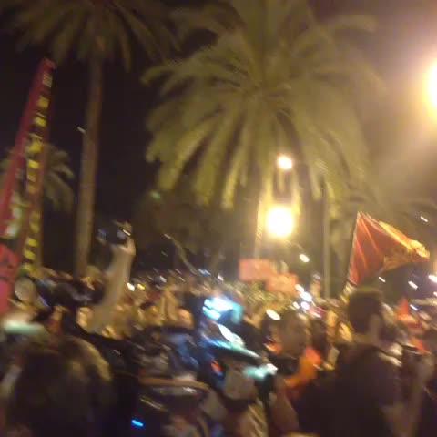 Alejandro Jurados post on Vine - El Mallorca es un sentimiento!!!! Éxito de participación la manifestación de @penyesmallorca - Alejandro Jurados post on Vine