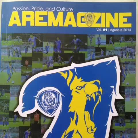 Arema Cronuss post on Vine - #Aremagazine edisi pertama #VineACFC - Arema Cronuss post on Vine