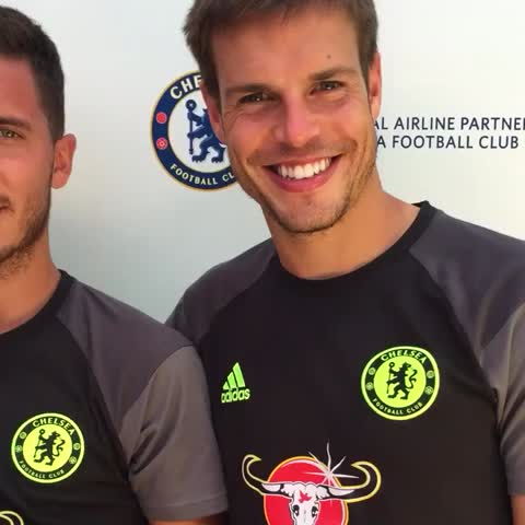 Vine by Chelsea FC - Our honorary players with some of their idols...