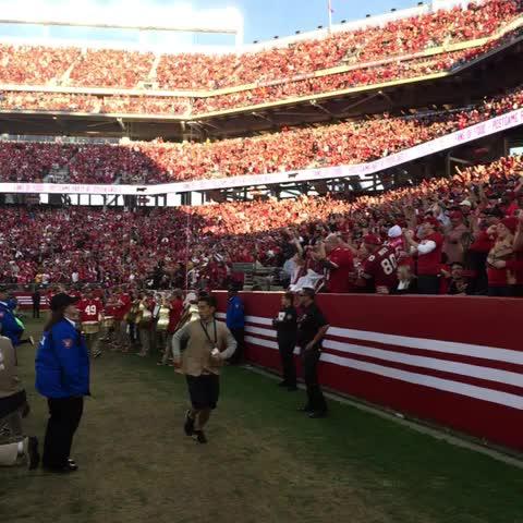 Loud noises! - 49erss post on Vine