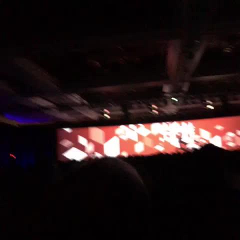 di_pola: #MagentoImagine Keynote kick off, we are @Magento! https://t.co/V6sYGs4dea