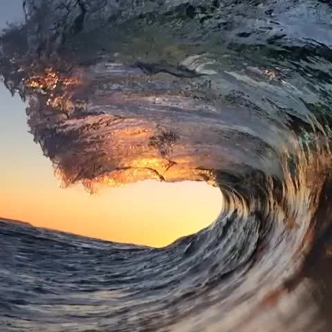 Vine by Ryan Pernofski - Ocean at golden hour :) ps my instagram is @ryanpernofski