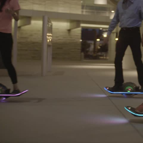 Watch Hoverboards Vine Light Up The Night