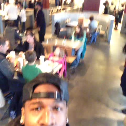 Vine by TravQue - My tribal call in Chipotle 😫🔊#Bricketi....(B-More)....#ComingToACityNearYou