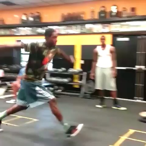 Brandon Knight with the 60 inch box jump! #OwnTheFuture - Milwaukee Buckss post on Vine