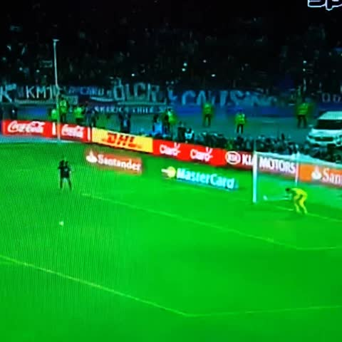 Vine by Daniel Pinder - Alexis Sanchez wins Chiles first ever Copa America with a panenka. #FinalCA2015