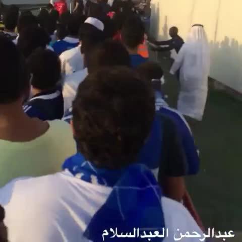 Hilalstuffs post on Vine - اقتحام الجماهير الهلاليه اسوار الملعب : - Hilalstuffs post on Vine