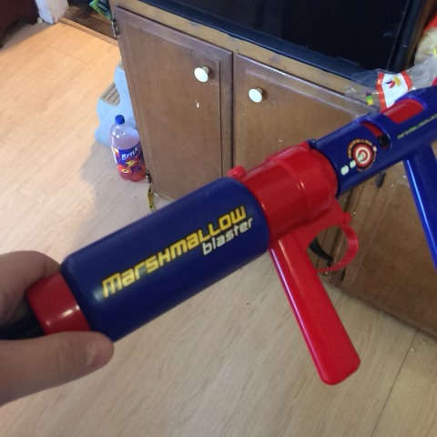 Jimmy Murrills post on Vine - Marshmellow gun. Look out - Jimmy Murrills post on Vine