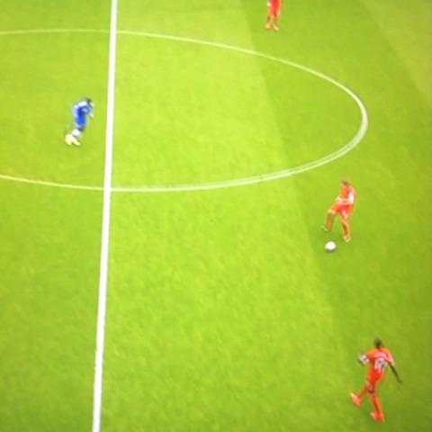 Flavss post on Vine - Vine by Flavs - Gerrard Slip against Chelsea #LFC #CFC