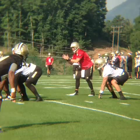 #SaintsCamp is underway! - New Orleans Saintss post on Vine