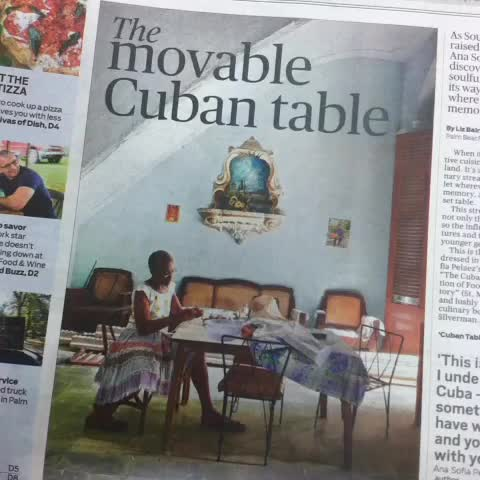 Have you read todays Food and Dining section of @pbpost? - Larry Thomass post on Vine