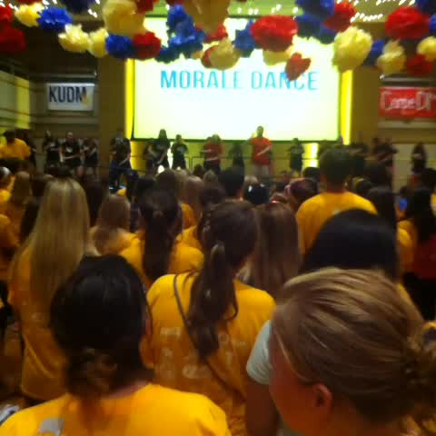 KUDMs post on Vine - Recruitment and morale dancers great routine were learning today! #FTKallDMday #FTK #KUDM2014 - KUDMs post on Vine