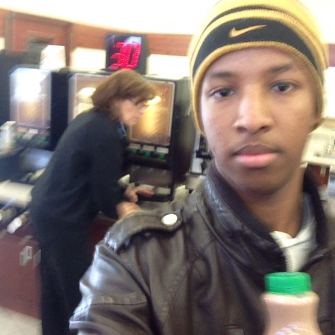 Dis old white lady following me around the store da whole time. Either she behind me or in the corner so I had to call her racist ass out - rashid polos post on Vine