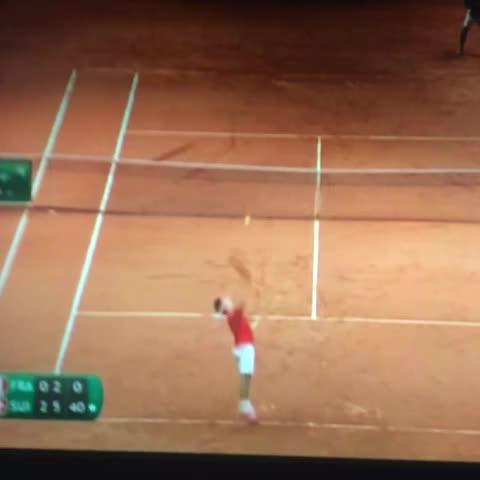 RODRIGOs post on Vine - Federer y el último punto #CopaDavis - RODRIGOs post on Vine