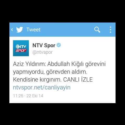 sinceMCMVIIs post on Vine - YILIN EN HIZLI YALAN HABER ÖDÜLÜ!!! GOES TO @ntvspor - sinceMCMVIIs post on Vine
