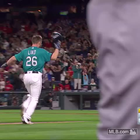Vine by Seattle Mariners - Adam Lind, for three!