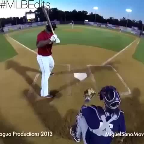 MLB Editss post on Vine - What an 87 mph breaking-ball and 97 mph fastball looks like. And this isnt even from the batters perspective😏 #MLBEdits - MLB Edits™s post on Vine