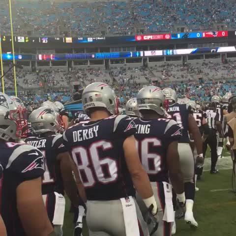 Vine by New England Patriots - Game time. #NEvsCAR