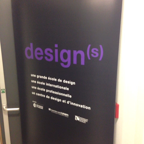 Inauguration du labo READi design lab @lecolededesign #interaction #design
