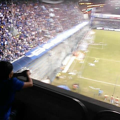 Emelec emelexistas post on Vine - la Boca del Pozo alentando - Emelec emelexistas post on Vine