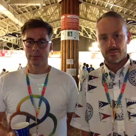 <DAY 1>ステキなコメントいただきました! #fujirock #VineMirror from @TheBasementJaxx - Fuji Rock Festivals post on Vine