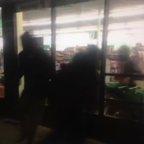 Jeanie Smiths post on Vine - Looting at the Dollar Tree located at 10752 West Florissant #Ferguson - Jeanie Smiths post on Vine