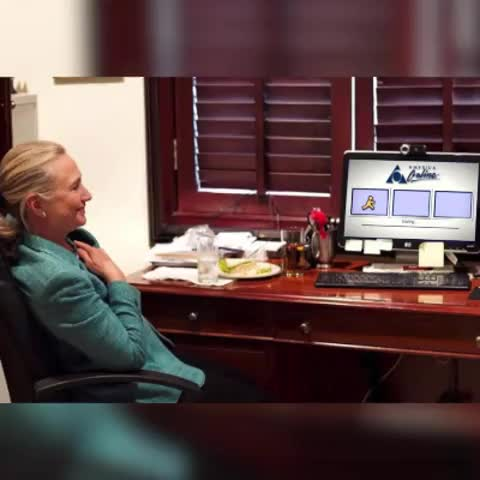 Vine by Free Beacon - EXCLUSIVE: The Free Beacon has obtained footage of Hillarys private email server in use.