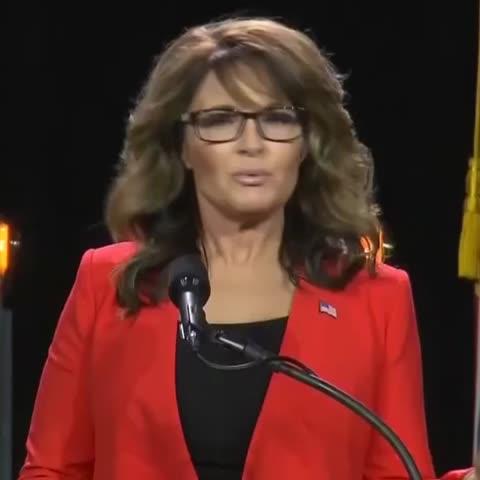 """Vine by POLITICO - .@SarahPalinUSA: """"Splodey heads keep 'splodin"""""""