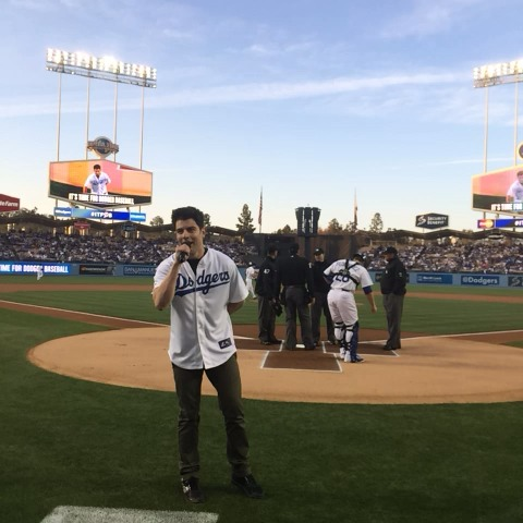 Take it away, @maxgreenfield! #ITFDB - Dodgerss post on Vine