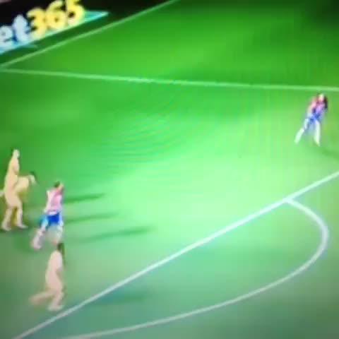 Vine by Follow @FootyHumour on Twitter - Dont want to get booked? Just keep running.