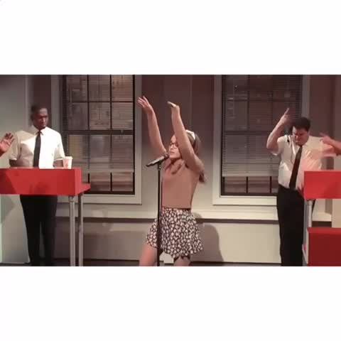 Vine by ariana edits yoo - incase you missed SNL last night heres a small recap of ariana being a dork