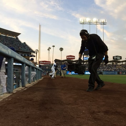 Now taking the field, your Los Angeles #Dodgers. #ITFDB - Dodgerss post on Vine