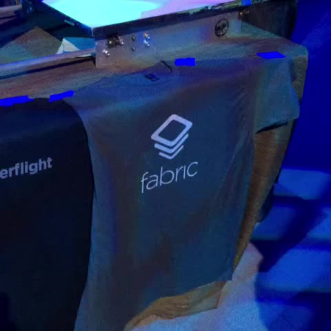 Hot off the presses @fabric tshirts - Jeff Sandquists post on Vine
