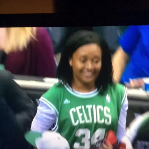 So Paul Pierce fouls out. Takes off sneakers and signs them for a fan. Okay then. - Sean McNallys post on Vine