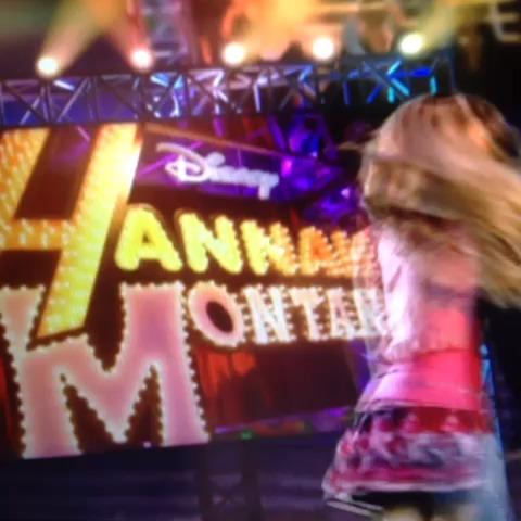 This isn't Hannah Montana...