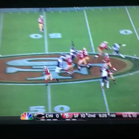 Steve Noahs post on Vine - Chris Conte interception was ridiculous. - Steve Noahs post on Vine