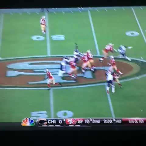 Chris Conte interception was ridiculous. - Steve Noahs post on Vine