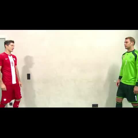 Neuer and Lewandowski - Vine by iMiaSanMia - Neuer and Lewandowski