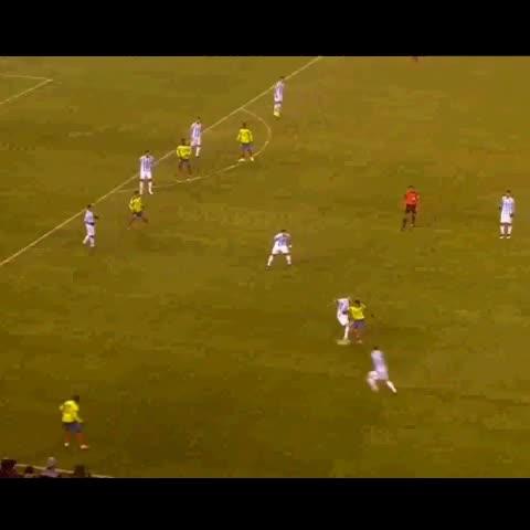 Vine by Selección Argentina - Gol de #Ecuador. 1-1 ante #Argentina.