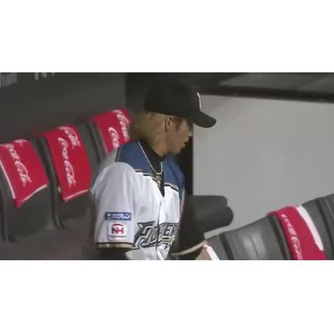 Vine by パ・リーグTV - 陽岱鋼選手の巧みなバット回し New bat flipping by Taiwanese hero.
