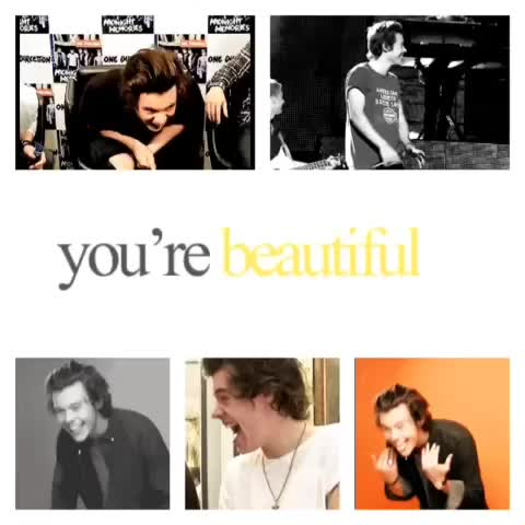 Harrys smile  > #harrystyles #onedirection #1dedit #1D #harryedit #like #follow #cute - omgstyles ✞s post on Vine
