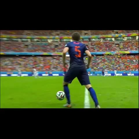 Vine by Footy Jokes - The last time Holland faced Spain...
