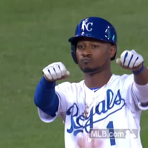 MLBs post on Vine - That feeling when you #walkoff into the ALDS. - MLBs post on Vine