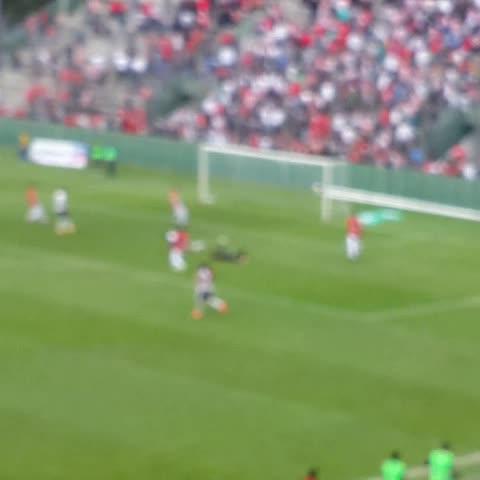 Vine by Arenga Deportiva - VIDEO | Mirá el gol de Ceballos para poner #JuventudAntoniana 1 - @CASMOficial 0. #FederalA