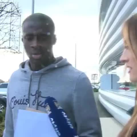 Vine by FootyHumour - Debate over. Yaya has spoken.