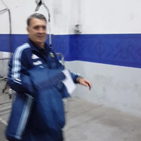 Vine by Selección Argentina - #FinalCA2015 ¡@Argentina ya está en el estadio Nacional!