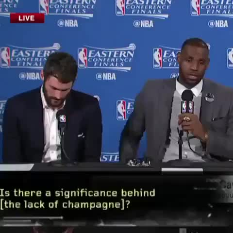 Vine by Fanly - LeBron and Kevin Love